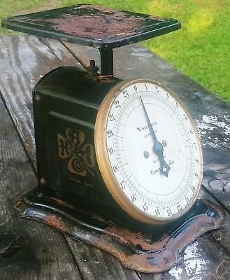 Vintage Columbia 24lb Family Scale