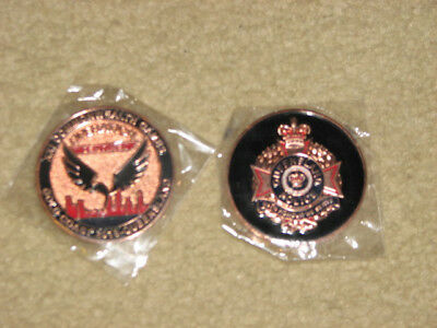 2018 Queensland Police Commonwealth Games Challenge Coin