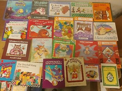 Lot of 20 K-5 Scholastic Learn to Read Picture Mix Set Kid Children Book #A18 NR