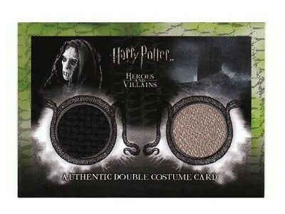 Harry Potter Double Costume Card Death Eater Heroes & Villains 066/180 DC3 LOW
