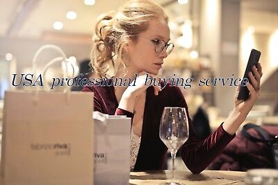 USA Assisted purchase BUY FOR ME US goods Service Personal Shopper shipworldwide