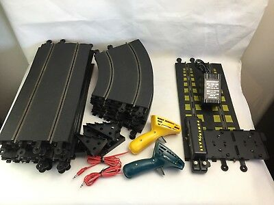 Hornby Slot Car Track - 22 x Track Pieces - Controllers - Power - Accessories -
