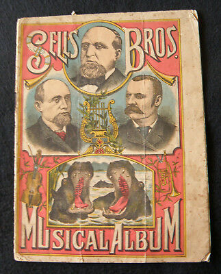Circus - Sells Brothers musical album, Sydney 1892