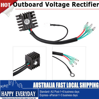 Voltage Regulator Rectifier Replacement 4hp-70hp 2 Stroke Outboard For Yamaha