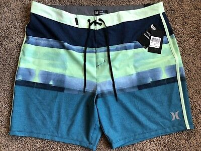 58553121ae $55 BRAND NEW HURLEY PHANTOM MENS BOARD SHORTS ROLL OUT BDST 38 x 18 ...