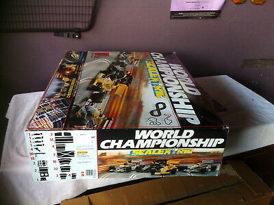 """Scalextric. Collectable.  """"world Championship""""  Slot Car Set,"""
