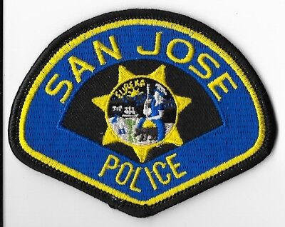 San Jose Police Department, California Hat Patch