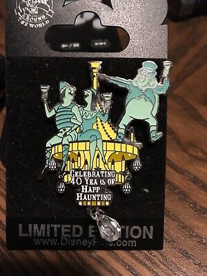Disney Cast Member Exclusive Pins Haunted Mansion 40th Anniversary Pin Ltd 750