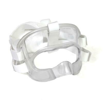 NEW SMAI WKF Approved Karate Face Protector - Clear Plastic Adult/Kids Face M...