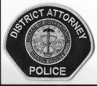 Orange County District Attorney Police, California Subdued Shoulder Patch