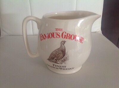 Famous  grouse SCOTCH Whiskey Water Jug