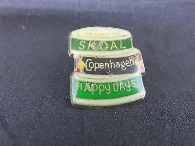 Copenhagen Skoal Happy Days Chewing Tobacco Tin Pin's + attache