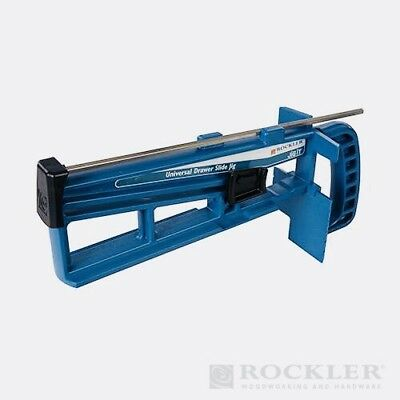 Universal Draw Slide Jig Woodworking Carpentry Joinery Drawer Wardrobe Cabinet