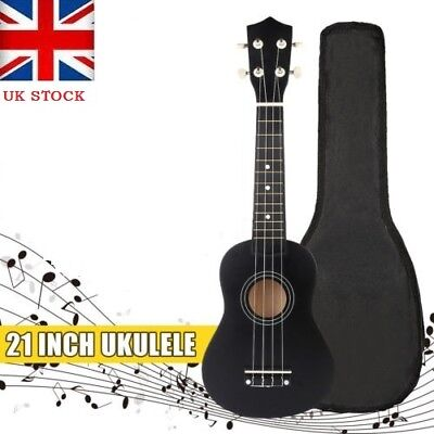 Kids Beginner Soprano Ukulele Sopranino Uke Musical Guitar Instrument & Free Bag