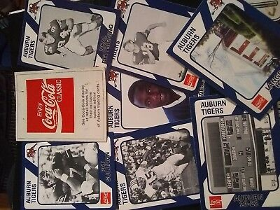 Auburns Trading Cards From Coca Cola