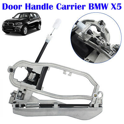 For BMW X5 E53 2000-2006 Outside Door Handle Carrier Front Left Side 51218243615