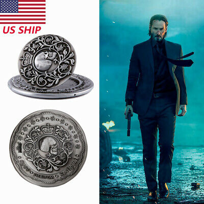 Johnwick Blood Oath Badge Marker Cosplay Costume Prop Replica Gift High Quality