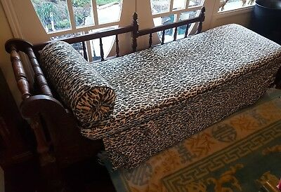 Antique Edwardian Ballarat Miners Couch Day Bed