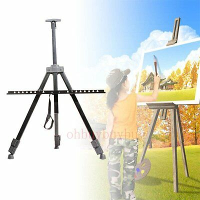 Artist Field Studio Painting Easel Tripod Display Stand Canvas White Board Rack