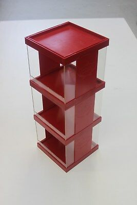 SWISHER SWEETS RETAIL PLASTIC  Cigar Store Display Case Red Vintage