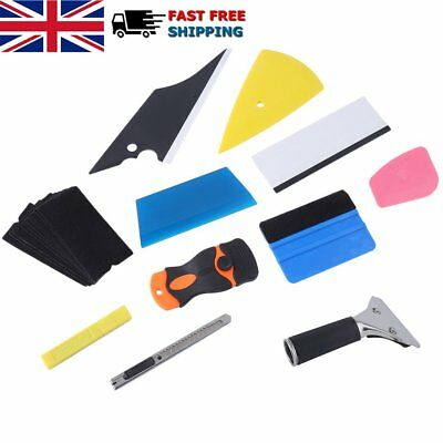 Window Tint Tools Kit, Car Wrapping Application Sticker Vinyl Sheet Squeegee UK