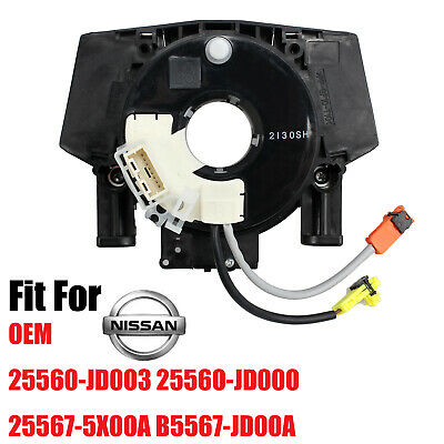 Airbag Clock Spring Spiral Squib Cable 25560-JD003 For Nissan Qashqai Pathfinder