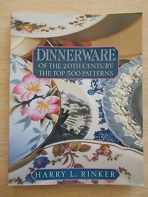 Dinnerware Of The 20th Century: The Top 500 Patterns~Price Guide~1st Ed~1997
