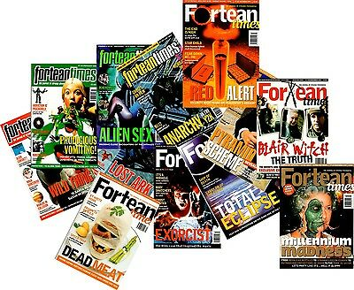 Fortean Times Magazines Year 1999 - 12 Issues