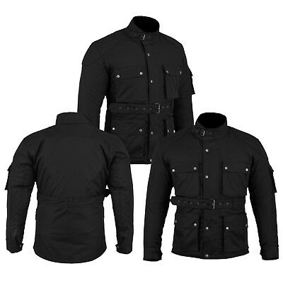 New Waterproof Motorbike Motorcycle Textile Cordura Coat Mens Jacket CE Armour's