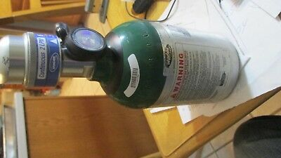 INVACARE M6 HF2PCL6 EMPTY oxygen tank For The Homefill  great shape