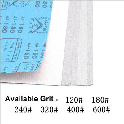 120-600 Grit Dry Sandpaper Woodworking Polishing Sanding Sheets 9''×11''