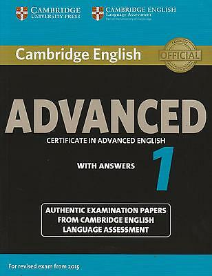 Cambridge CERTIFICATE IN ADVANCED ENGLISH CAE 1 +Answers for Exam from 2015 @NEW
