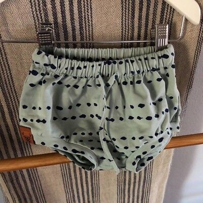 Oovy Kids - Unisex Seafoam Baby Bloomers/Shorts (size 000)