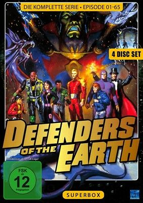 Defenders of the Earth (Superbox) (4 DVDs) [4x DVD]