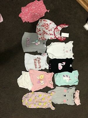 Bulk Baby Girls Size 0000 Clothing