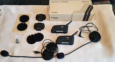 Excelvan Bluetooth Motorcycle Intercom System