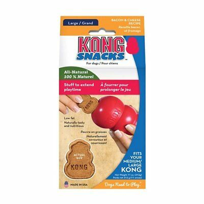 Kong Snacks Bacon & Cheese Dog Treats, Large. Premium Service, Fast Dispatch