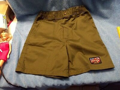 EUC BSA Boy Scout Official Shorts size 14 waist 27
