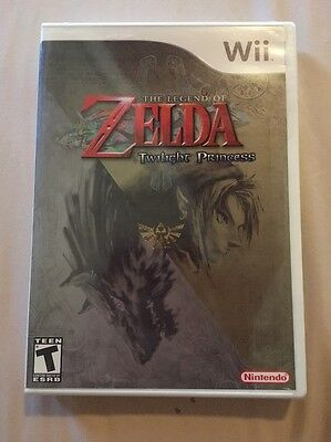 The Legend of Zelda: Twilight Princess (Nintendo Wii, 2006) BRAND NEW ORIGINAL