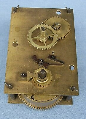 Eight Day Platform regulated Mantel Clock Movement