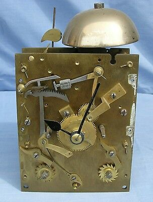 Eight Day Chain Driven Double Fusee Mantel Clock Movement