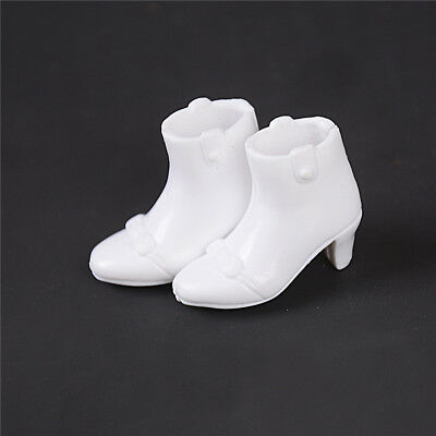 White Shoes Doll Princess Shoes For Barbie Dolls High Heels Clothes AccessorieRT