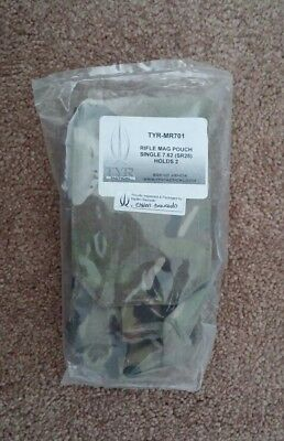 TYR Rifle Double Mag Single Pouch 7.62 (SR25)  - CAG JSOC NSW DEVGRU SEAL SOF