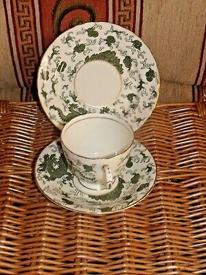 Vintage Delphine China Dragon Design Trio
