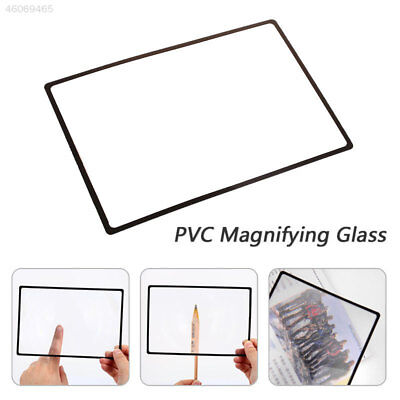 Durable Magnifying Glass PVC Reading Magnifier Desktop Glass Lens