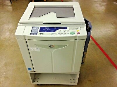 Riso EZ220 UI Digital Printing Duplicator High Speed Photo Copier W/ LOW HOURS