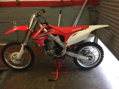 Honda CRF450R road legal 2011