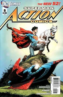 Action Comics #5 Rags Morales Variant NM