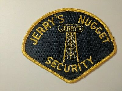 Very Old Rare North Las Vegas,1St Issue Jerry's Nugget Casino ( Not A Repro)