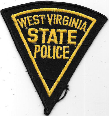 "Police Patch: West Virginia State Police Patch Measures 4 1/2"" X 4 1/2"""
